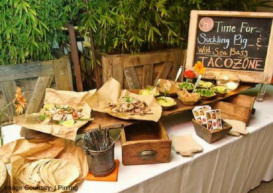 Food Station in Wedding